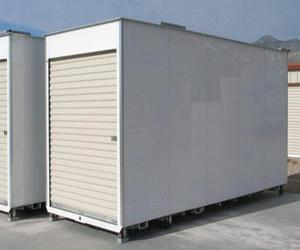 single unit container rental outdoor facility